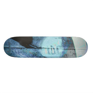 B2B2010 Badgirl 4Good blue Skateboard Deck