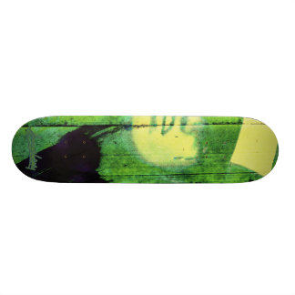 B2B2010 Badgirl 4Good green Skate Board Decks