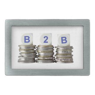 B2B - Business to Business Rectangular Belt Buckle