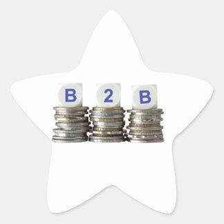 B2B - Business to Business Star Sticker
