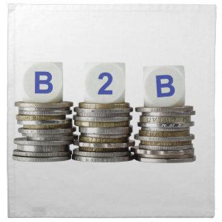 B2B - interempresarial Servilleta Imprimida
