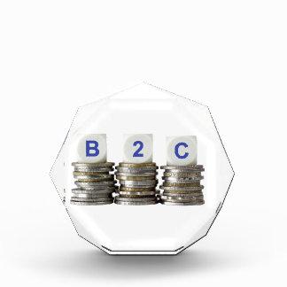 B2C - Business to Consumer Acrylic Award