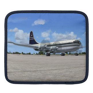 B377 Stratocruiser Airliner iPad Sleeve
