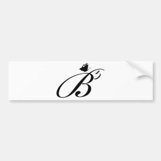 B3 Logo Bumper Sticker