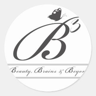 B3 Logo Stickers