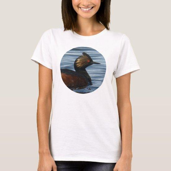 B41w Eared Grebe T-Shirt