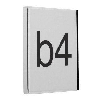 b4 iPad folio cases