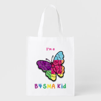 B4SMA Kid - Butterfly Reusable Grocery Bag
