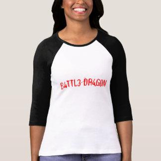 B4TTL3 DR4G0N T-Shirt