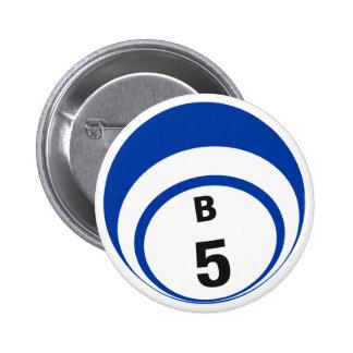 B5 Bingo Ball button