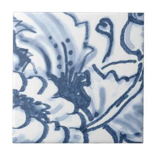 B5 - Teja mural de la cesta de Delft - B5