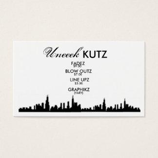 b5pni1, b5pni1, Uneeek , KUTZ, FADEZ, BLOW OUTZ... Business Card