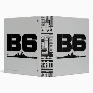 B6 3 RING BINDERS