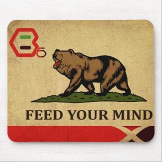 B6.BICS Flag Mouse Pad