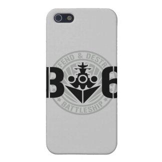 B6 Defend & Destroy Case For iPhone SE/5/5s