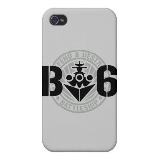 B6 Defend & Destroy Covers For iPhone 4