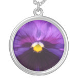 b6 Purple Purple Pansy Custom Jewelry