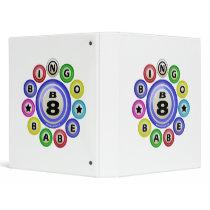 B8 Bingo Babe 3 Ring Binder
