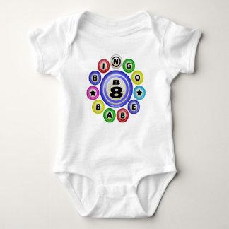 B8 Bingo Babe Baby Bodysuit
