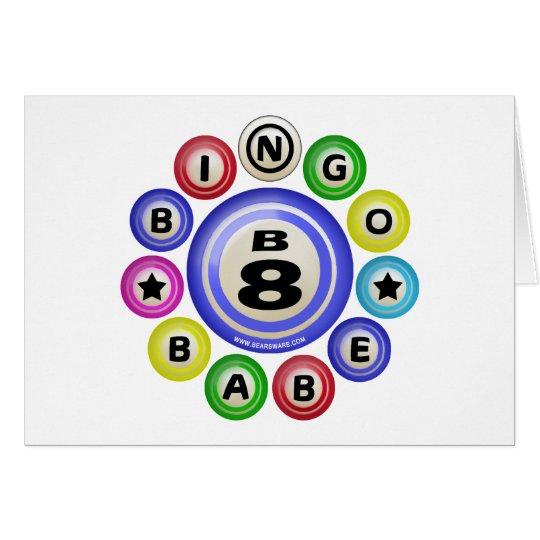 B8 Bingo Babe Card