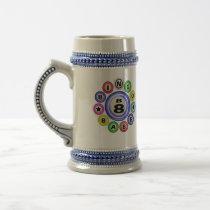B8 Bingo Babe Coffee Mugs