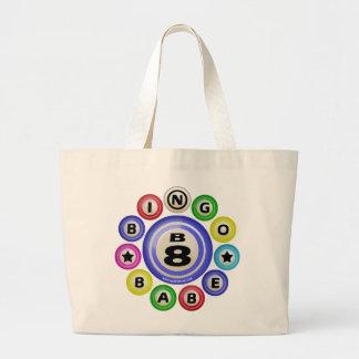 B8 Bingo Babe Large Tote Bag
