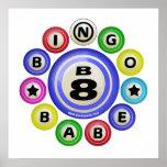 B8 Bingo Babe Print