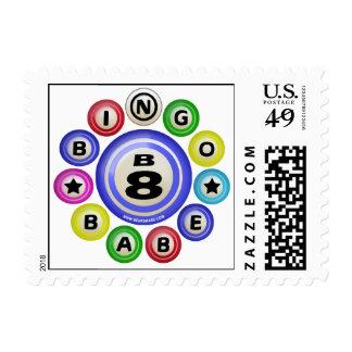 B8 Bingo Babe Stamp