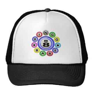 B8 Bingo Babe Trucker Hat