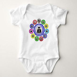 B8 Bingo Dude Baby Bodysuit