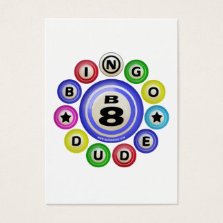 B8 Bingo Dude Business Card