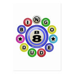 B8 Bingo Dude Large Business Cards (Pack Of 100)