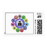 B8 Bingo Dude Postage Stamp
