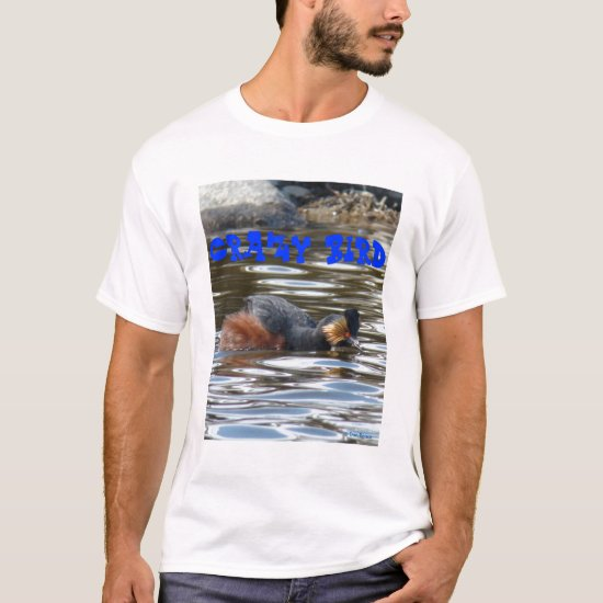 B8 Eared Grebe Courting T-Shirt