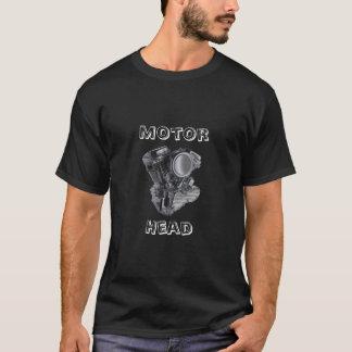 b9_3  panhead motor, Motor, Head T-Shirt