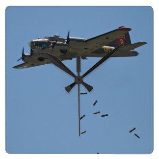 B-17 Bomber Clock