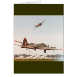 b-17 bombers ww2 card