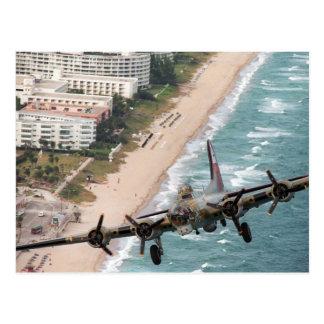 B-17 de la postal de la costa de la Florida