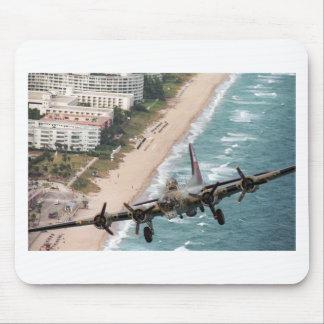 B-17 del mousepad de la costa de la Florida Alfombrilla De Ratones
