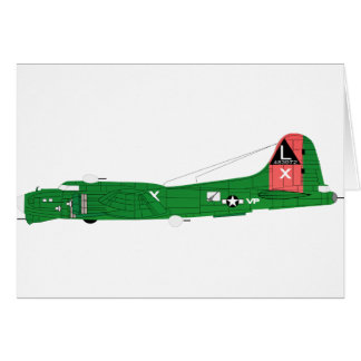 B-17 Flying Fortress-2 Card