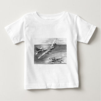 (B-17) Flying Fortress Baby T-Shirt
