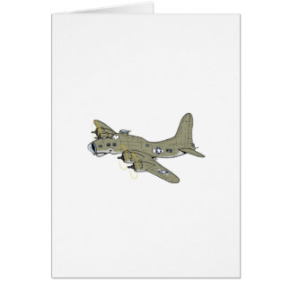 B-17 flying fortress card