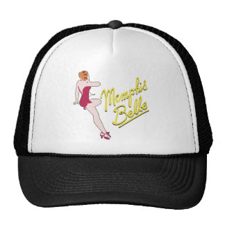 B-17 Flying Fortress Memphis Belle Mesh Hats