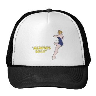 B-17 Flying Fortress Memphis Belle Nose Art Mesh Hat