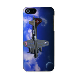 B-17 Flying Fortress Metallic Phone Case For iPhone SE/5/5s