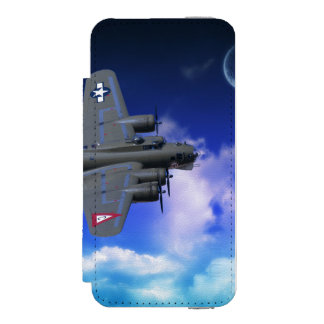 B-17 Flying Fortress Wallet Case For iPhone SE/5/5s