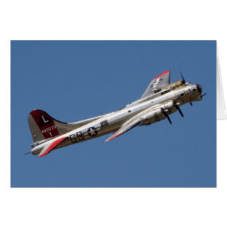 B-17 G Yankee Lady Card