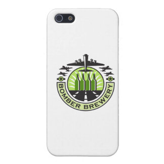 B-17 Heavy Bomber Beer Bottle Brewery Retro Cover For iPhone SE/5/5s