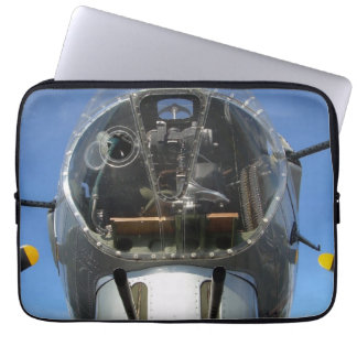 B-17 Nose Bomber Turret Seat Photo Laptop Sleeve