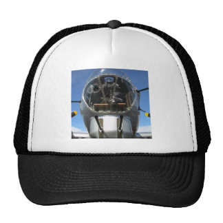 B-17 Nose Bomber Turret Seat Photo Trucker Hat